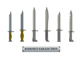 Bayonet Sharp Metal Illustration.