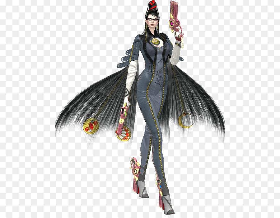Bayonetta Costume Design png download.