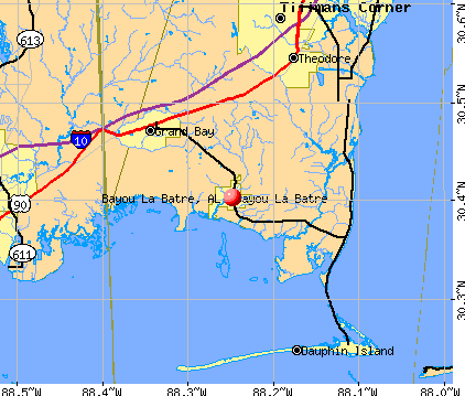 Bayou La Batre, Alabama (AL) profile: population, maps, real.