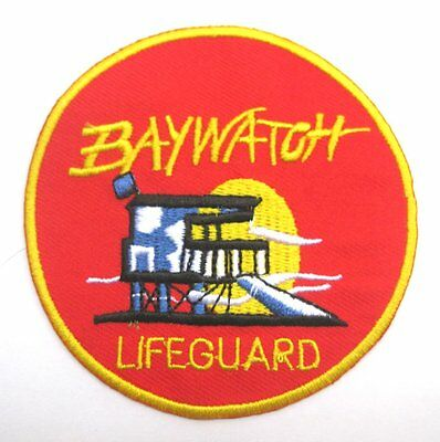 Baywatch Logo Sew Ironed On Badge Embroidery Applique Patch 3\