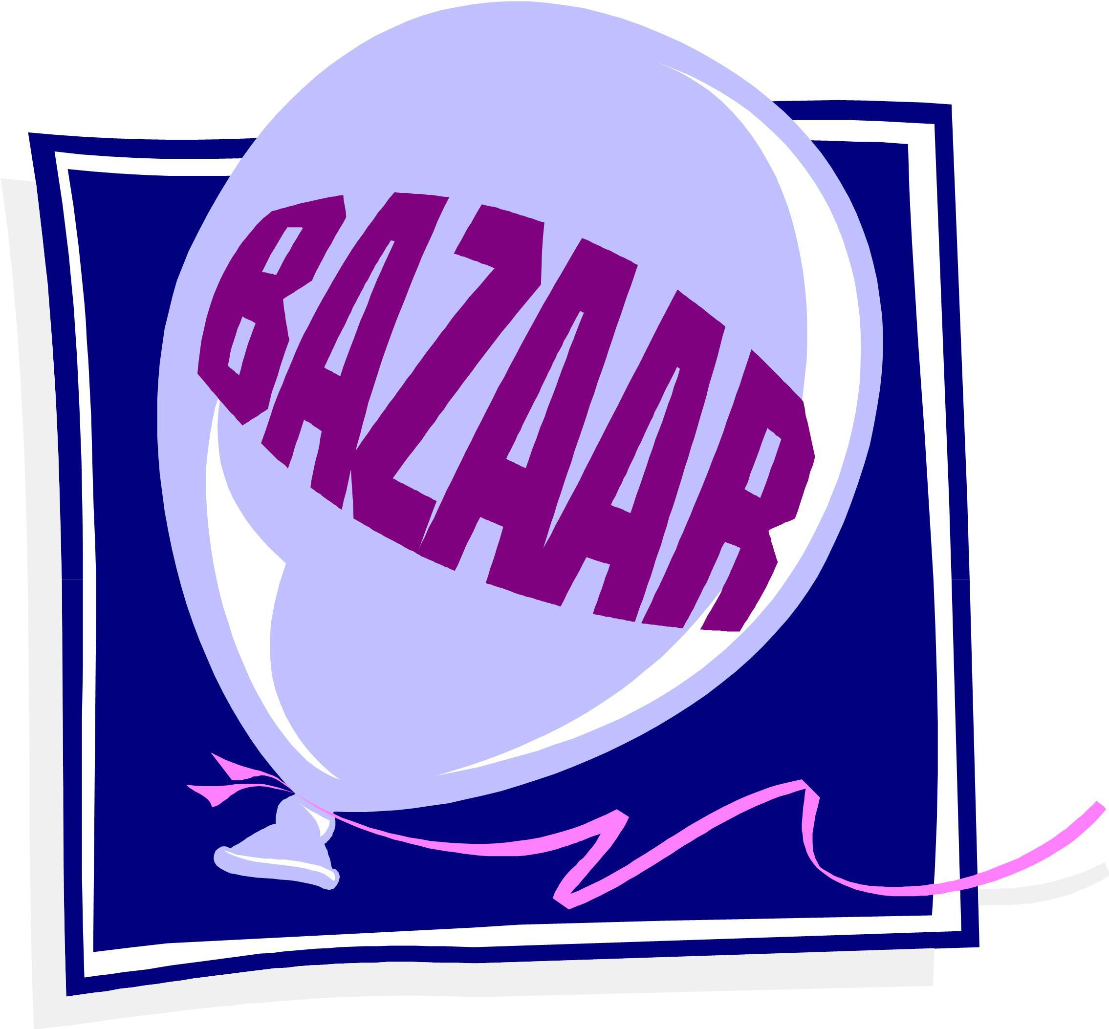 Bazaar Clip Art.