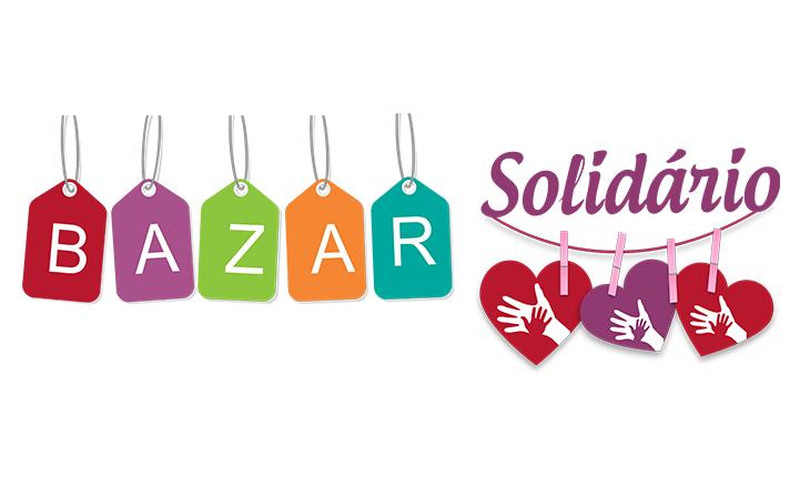 Bazar Solidário.