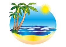 Dune Bazaruto Islands Stock Illustrations.