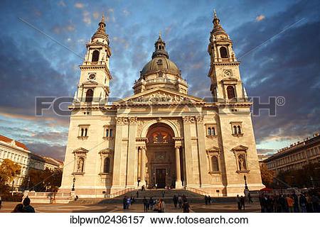 "Picture of ""St Stephen's Basilica, Szent Istvan Bazilika, neo."