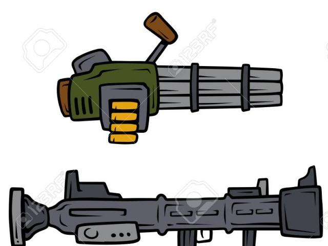 Guns clipart bazooka, Guns bazooka Transparent FREE for.