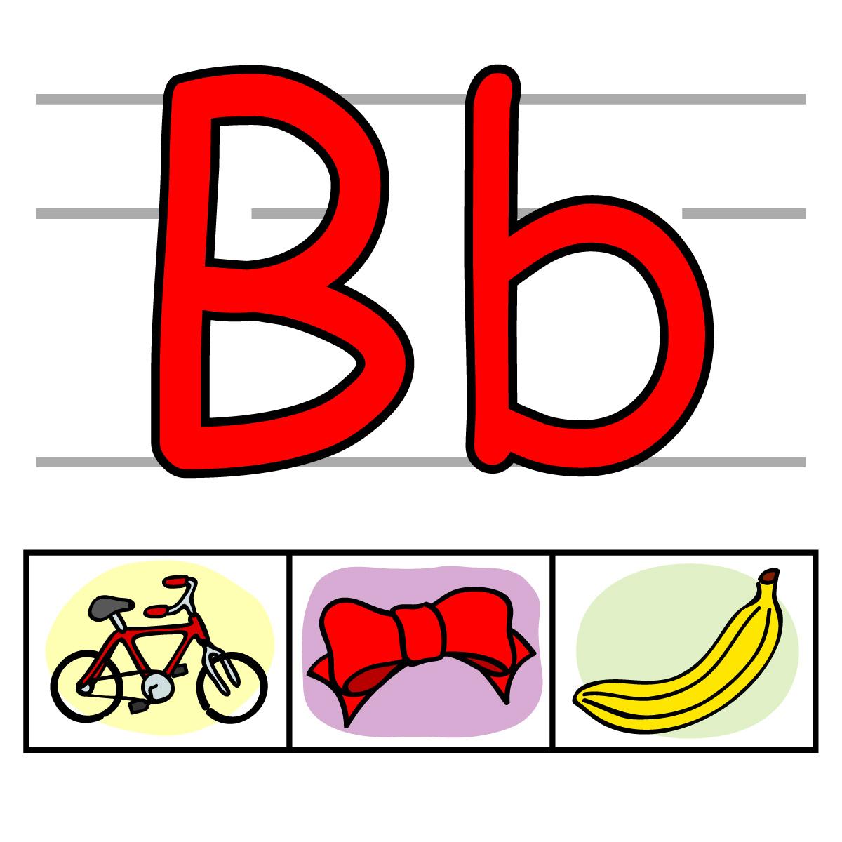 Letter bb clip art.