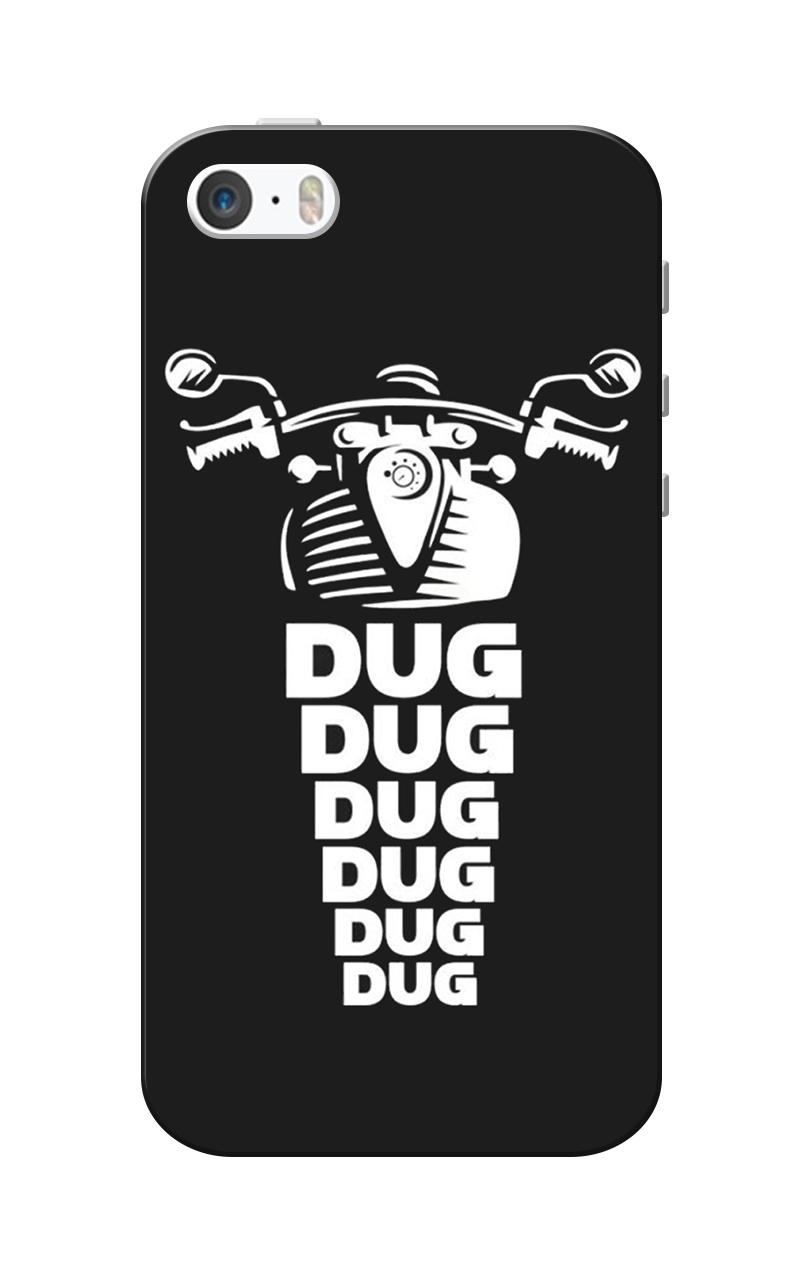 Caseria Dug Dug Bullet Black Slim Fit Hard Case Cover for.