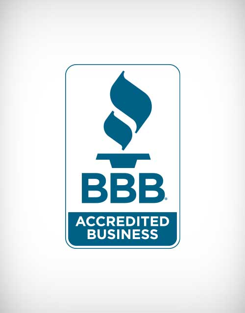 bbb accredited business vector logo.