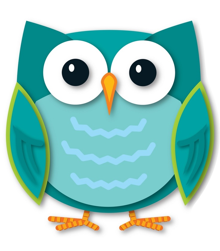 Animated Owl Clip Art.