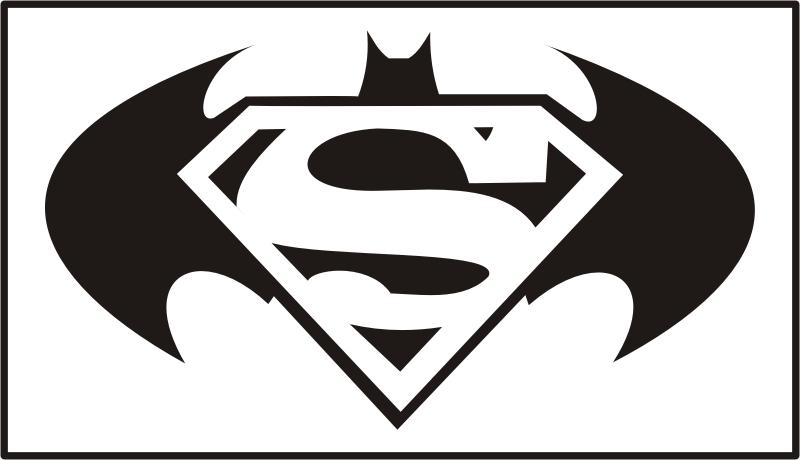 Superman Vs Batman Clipart.