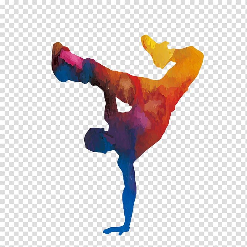 Multicolored pop art, Dance B.