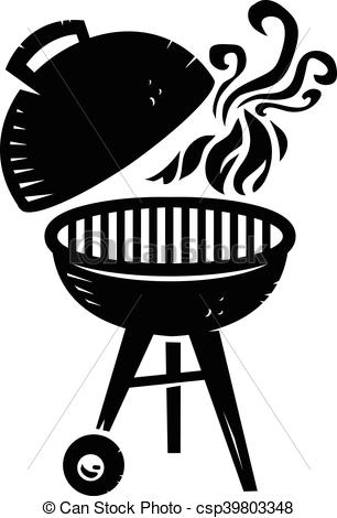 1525 Grill free clipart.