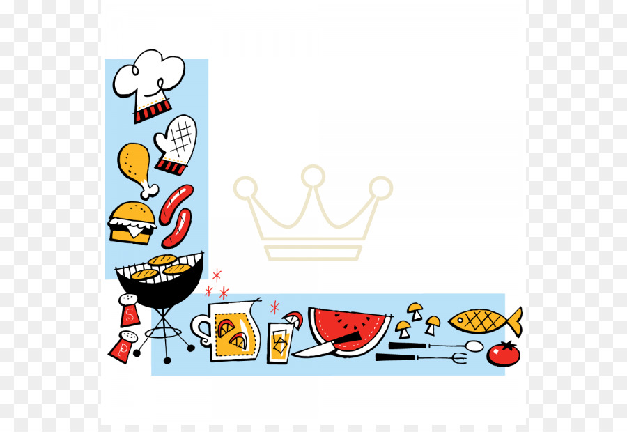 Barbecue Png Border & Free Barbecue Border.png Transparent Images.