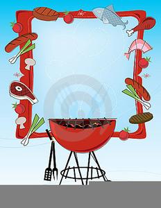 Barbecue Clipart Border.