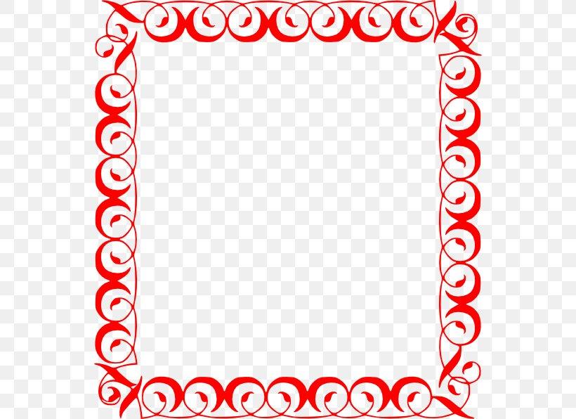 Decorative Borders Free Content Clip Art, PNG, 552x596px.
