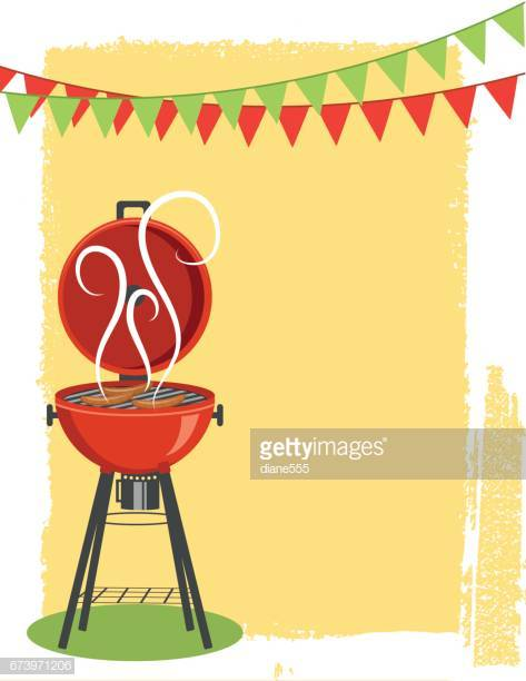 60 Top Barbecue Grill Stock Illustrations, Clip art, Cartoons.