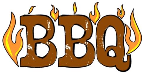 Summer Bbq Party Clip Art.