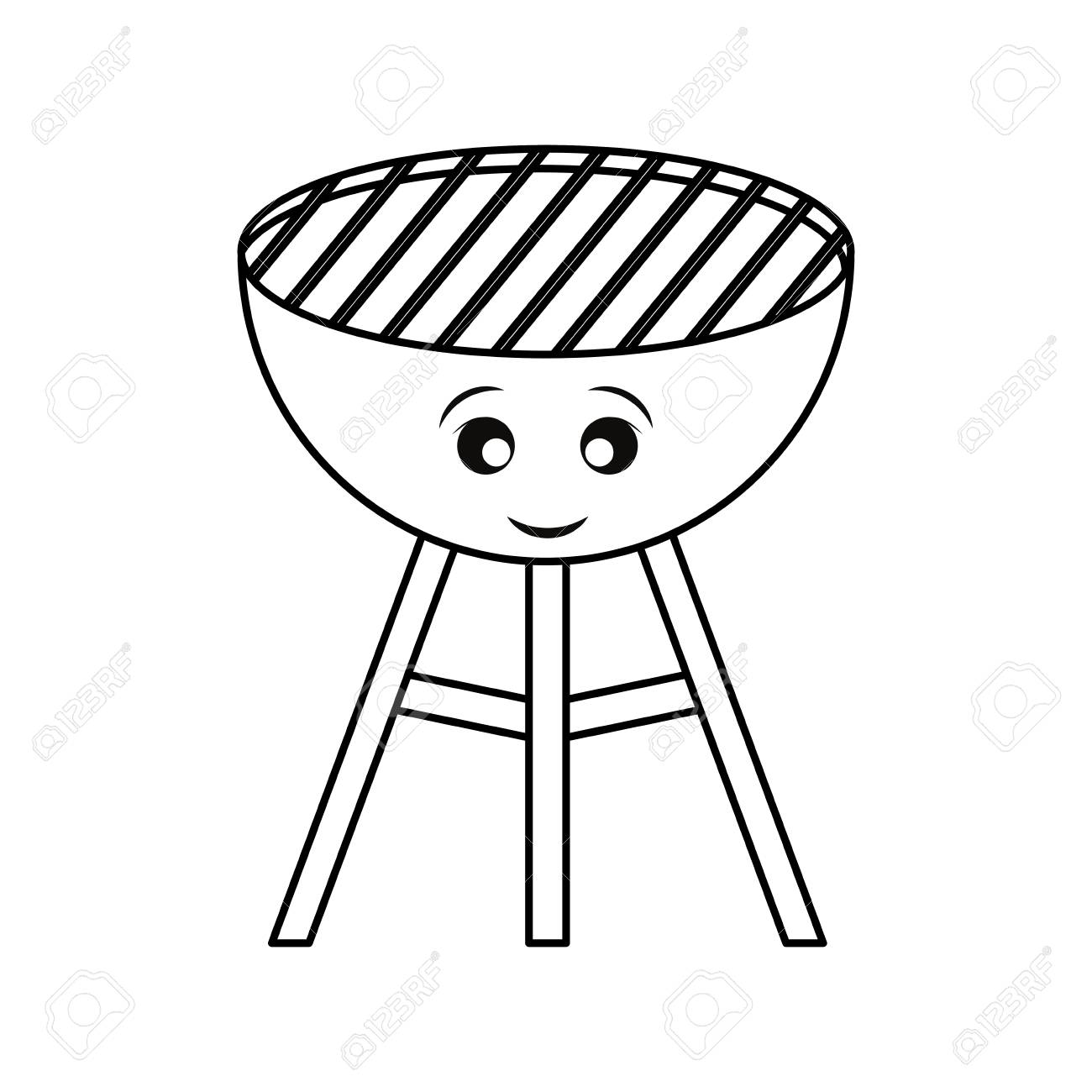 Bbq Grill Clipart Black And White (106+ images in Collection) Page 3.