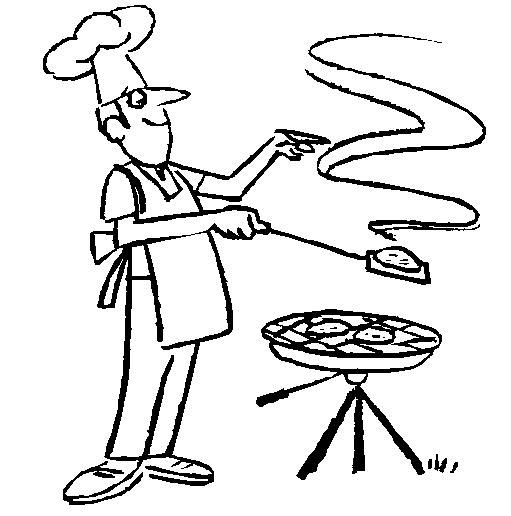 Bbq Clipart Black And White (95+ images in Collection) Page 2.