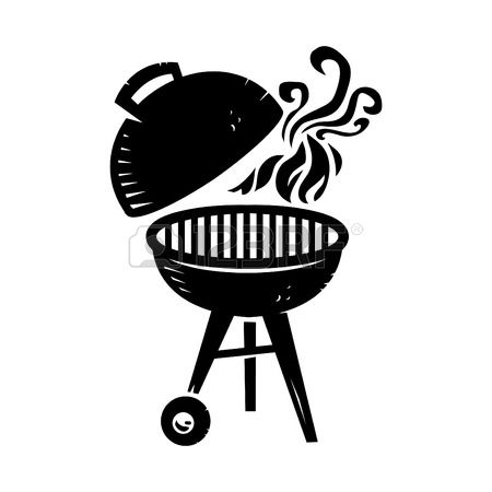 Bbq grill clipart black and white 3 » Clipart Station.