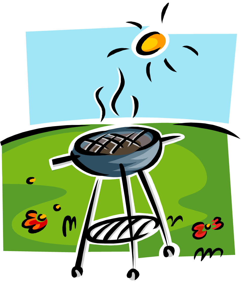 Bbq party clipart free clipart images 3.