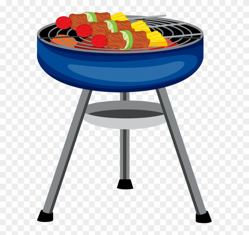 Red Clipart Bbq Grill.
