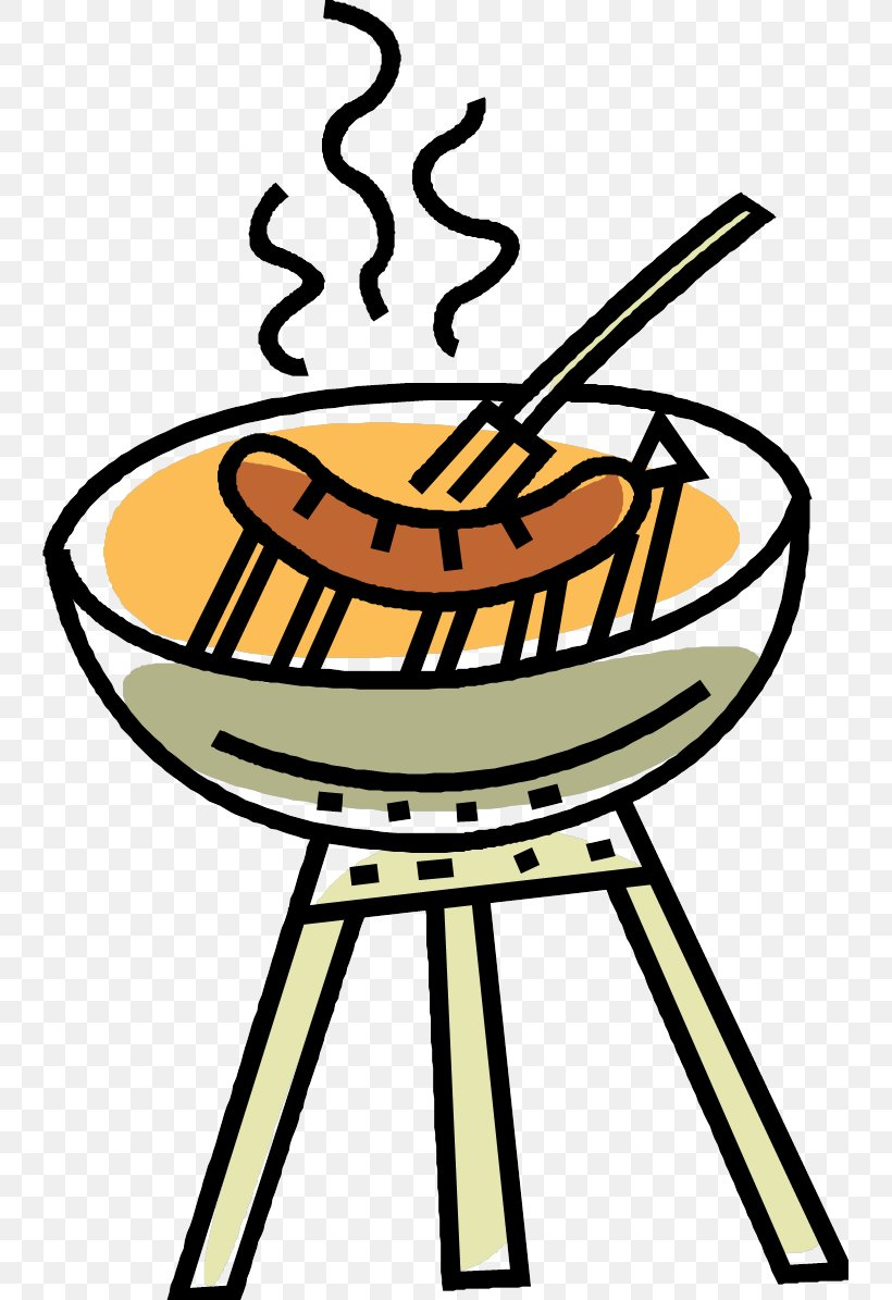 Sausage Sizzle Barbecue Hot Dog Clip Art, PNG, 741x1195px.