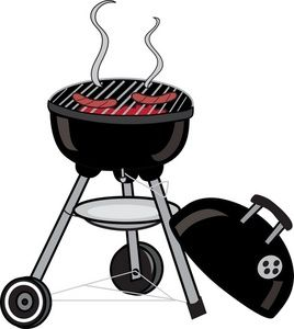 Bbq cookout clipart.