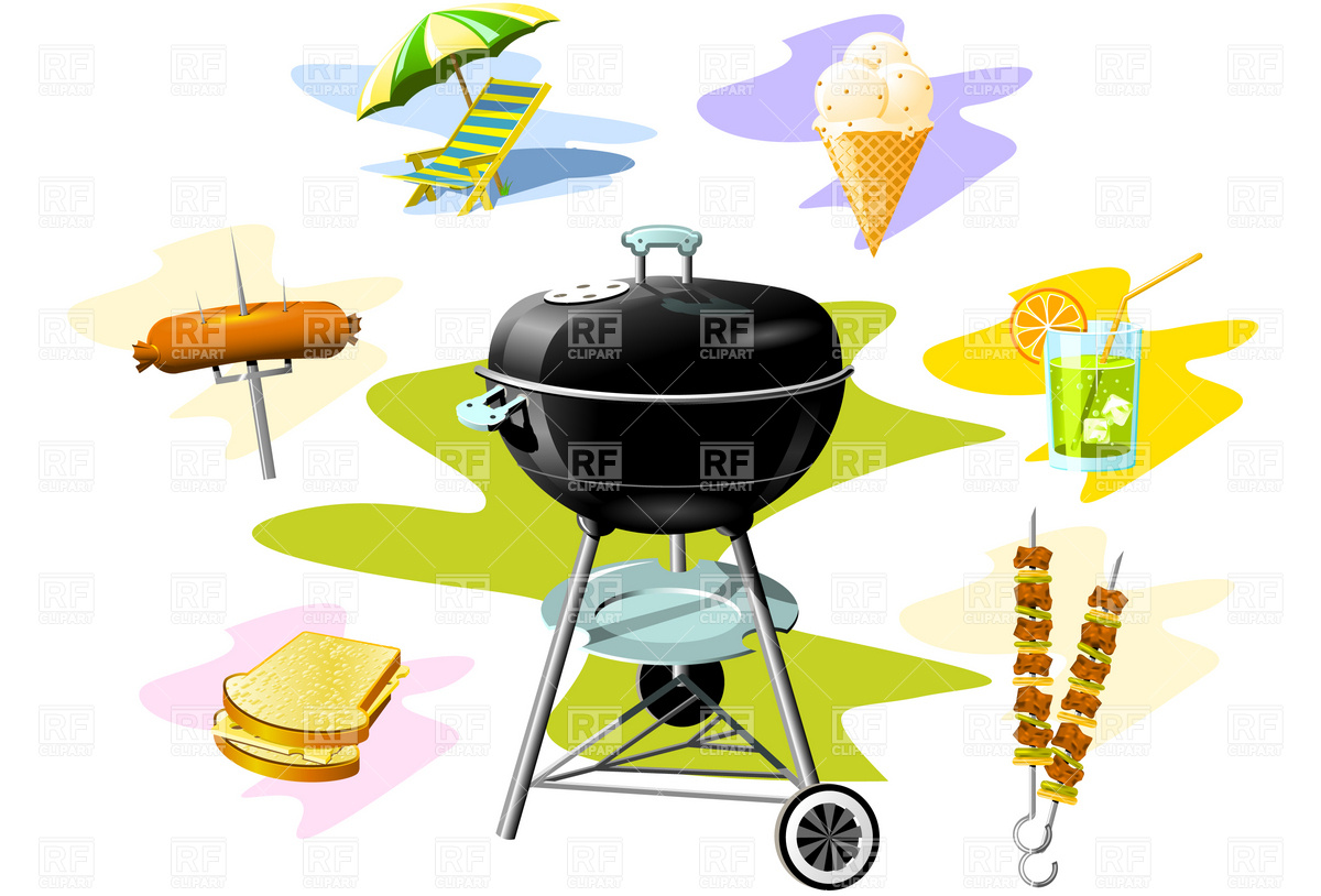 Barbecue Grill Stock Vector Image.