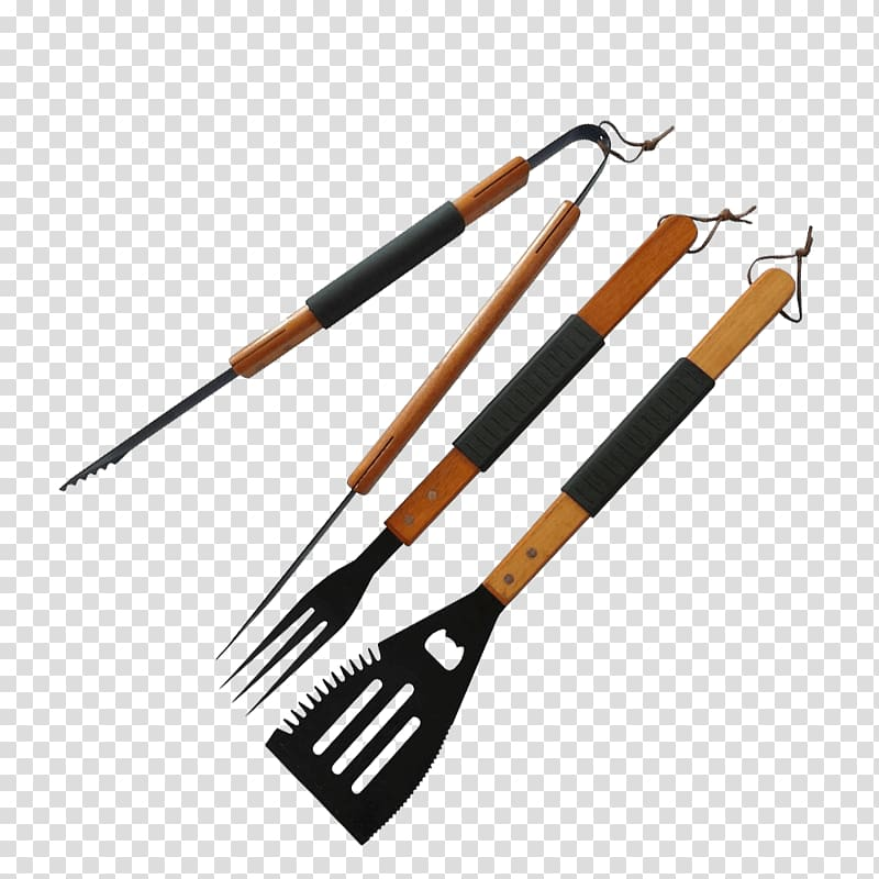 Barbecue Tool Grilling Tongs Fork, GRILL TOOLS transparent.