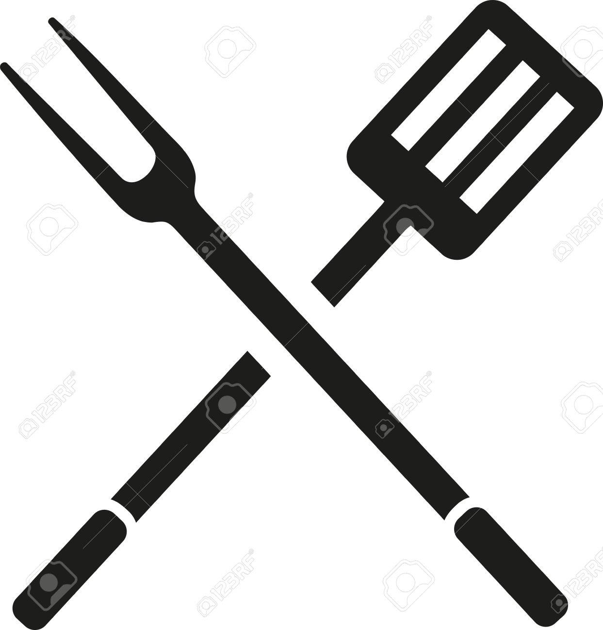 2428 Fork free clipart.