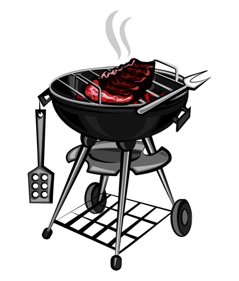 Barbecue Grilling Clip Art.