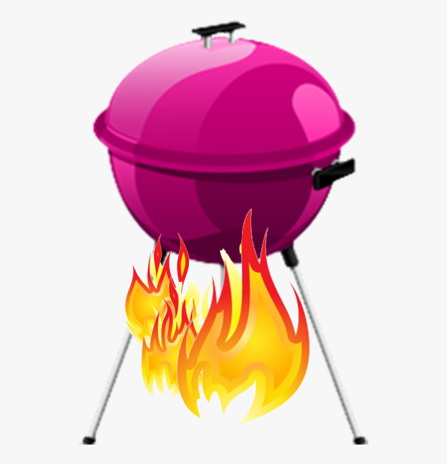 Grill Clipart Family Barbecue.