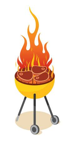 Barbecue grill clipart 2 » Clipart Station.