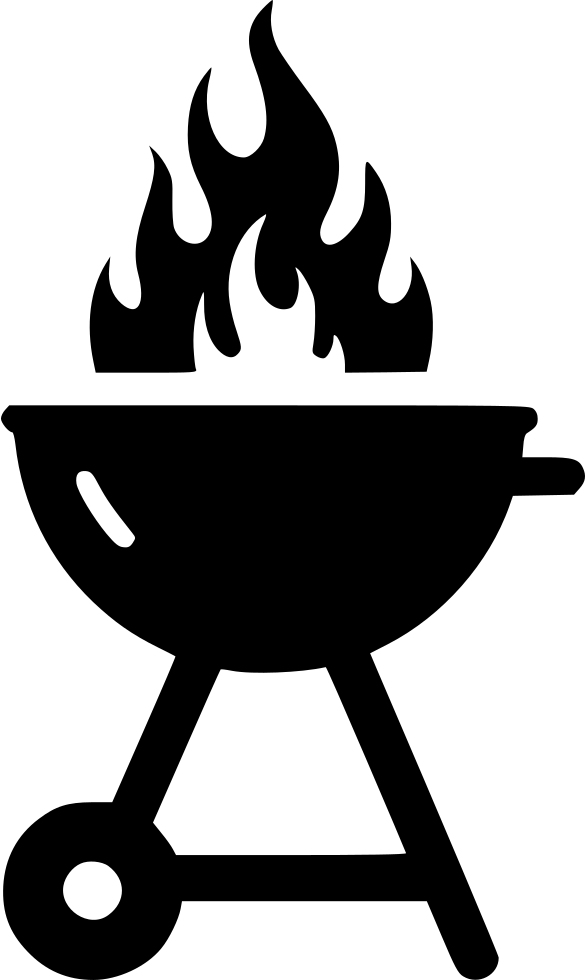 Grill Icon Clipart Barbecue Tailgate Party Grilling.