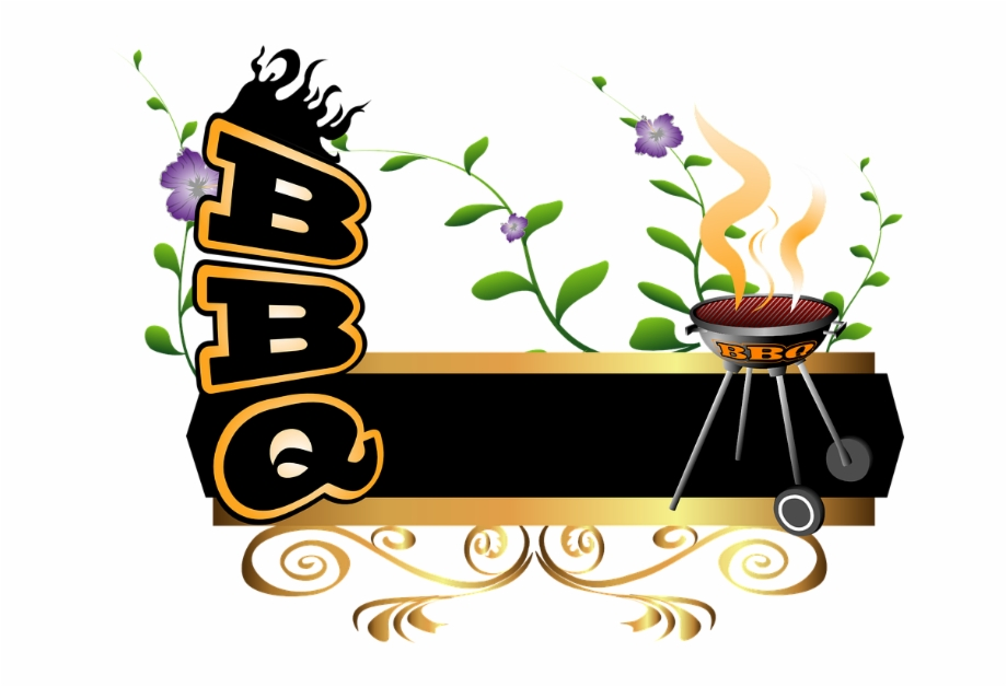 Grilling Clipart Bbq Word.