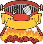 Summer Bbq Party Clip Art.