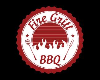 bbq Logo Design.