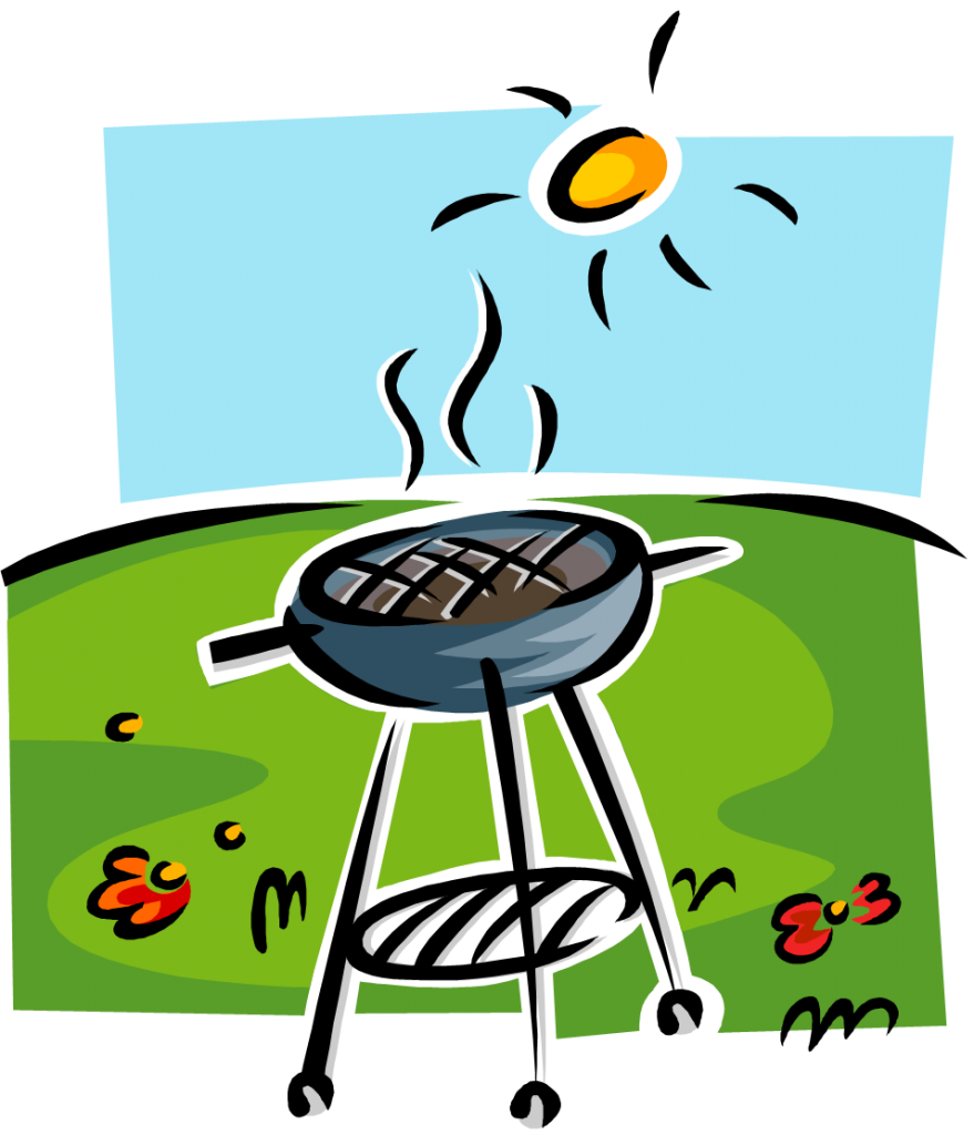 Picnic clipart barbecue party, Picnic barbecue party.