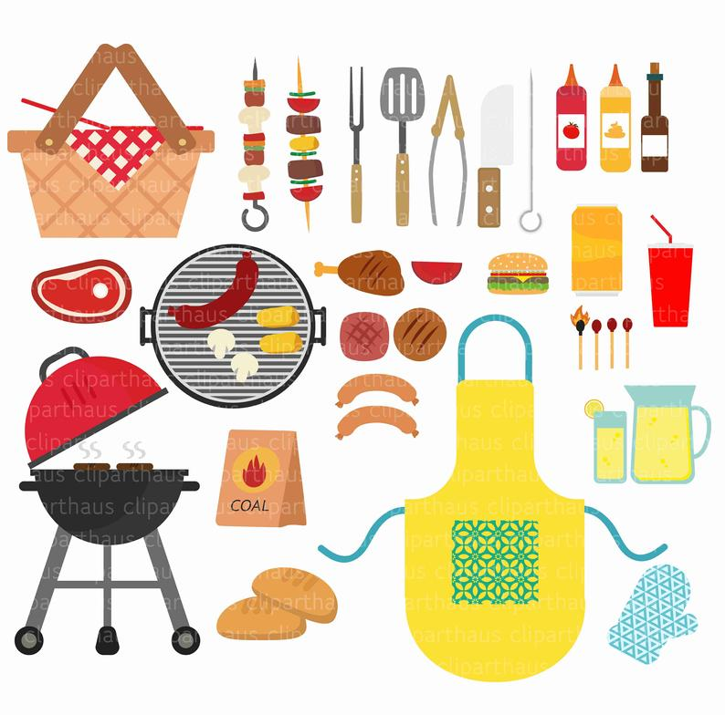 Clipart Barbeque, Barbeque clipart, Barbeque svg, BBQ Clipart, bbq Clip  art, barbeque vector, bbq vector, bbq svg, Commercial Use, SVG Files.