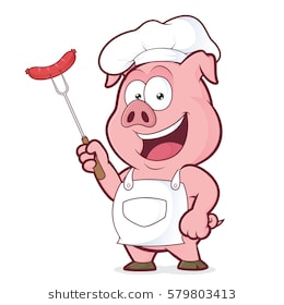 Bbq pig clipart 6 » Clipart Station.