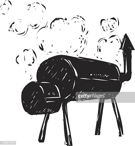 57 Smoker Grill Stock Illustrations, Clip art, Cartoons & Icons.
