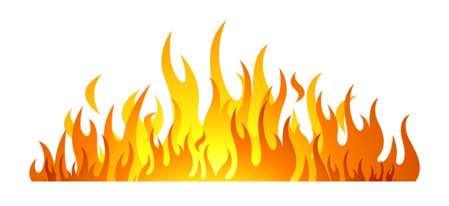 Grill Flames Png.