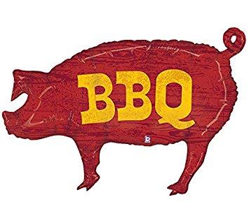 Pig Bbq Logo.