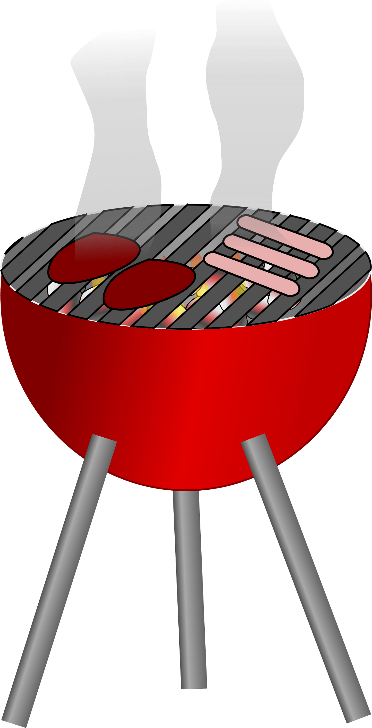 Related Pictures Bbq Summer Clipart.