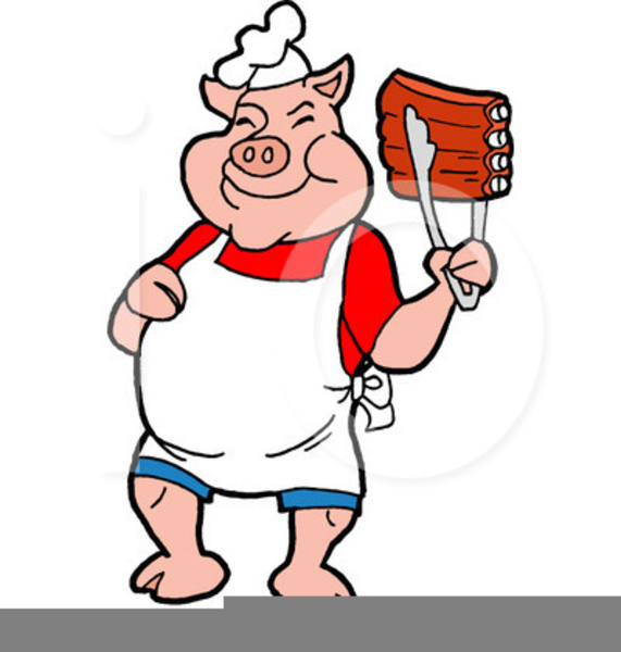 Pork Ribs Clipart.