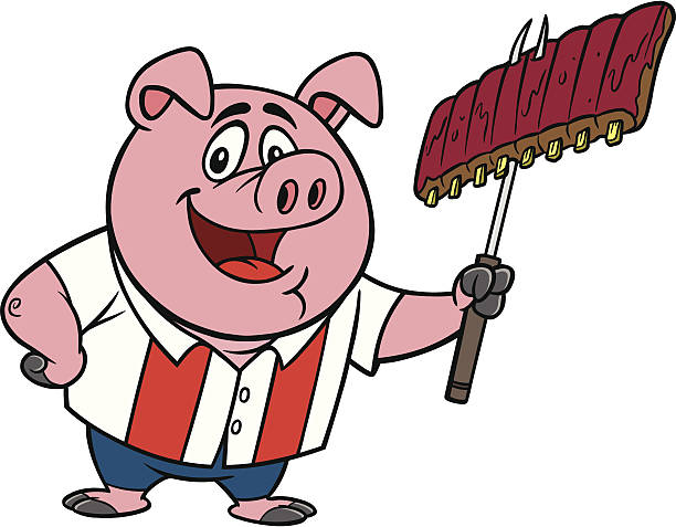 Best Bbq Ribs Illustrations, Royalty.