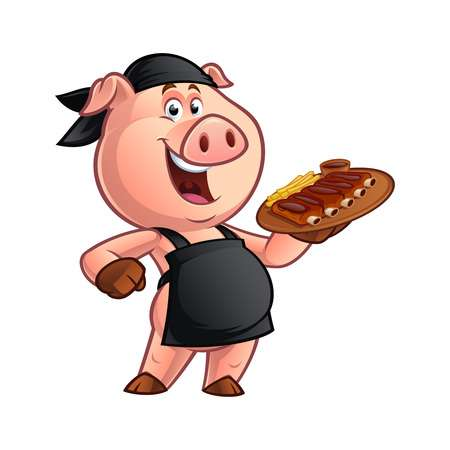 3,179 Bbq Ribs Stock Vector Illustration And Royalty Free Bbq Ribs.