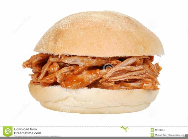 Clipart Bbq Sandwich.