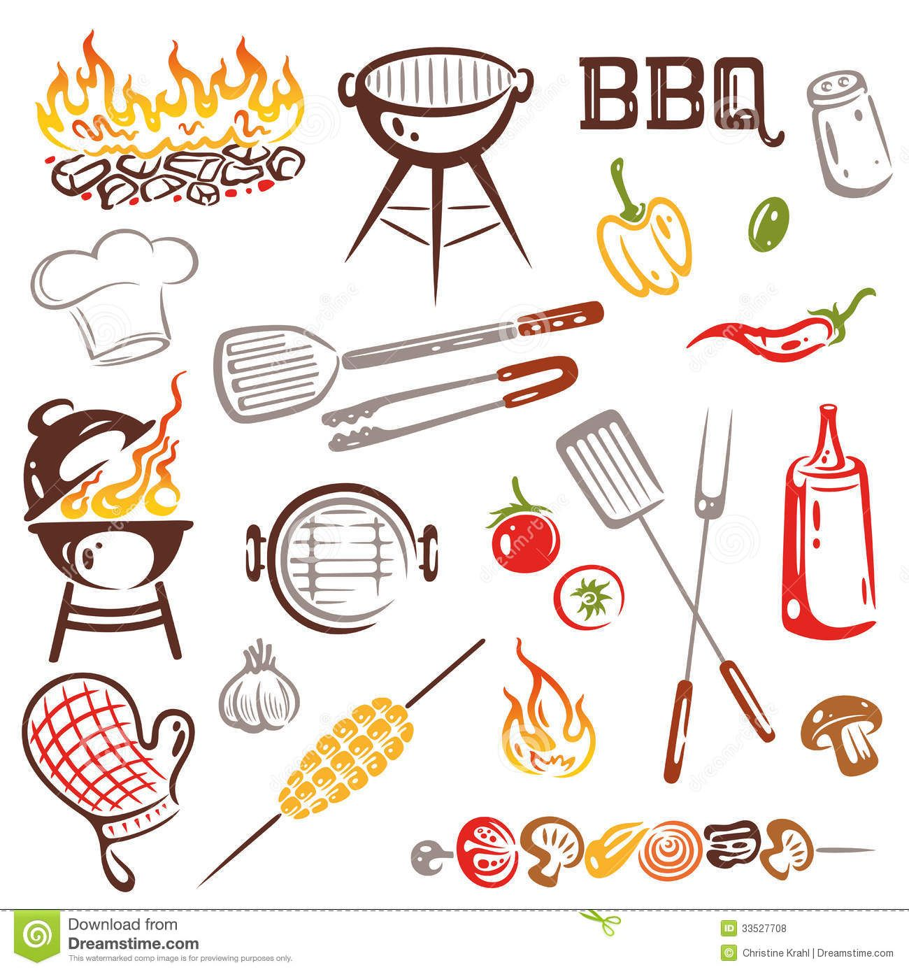 barbecue clipart free.